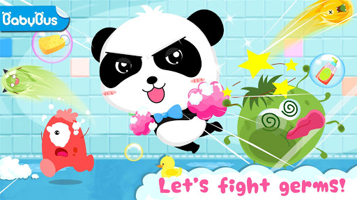 Baby Panda's Bath Time apkpoly screenshots 1
