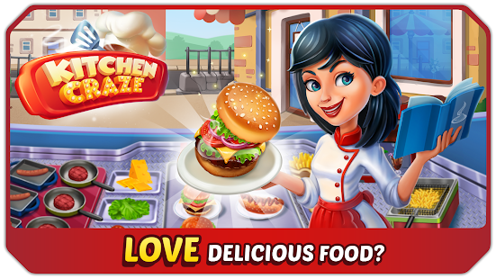 Kitchen Craze - Master Chef Cooking Game- screenshot thumbnail