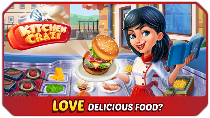 Kitchen Craze - Master Chef Cooking Game screenshot