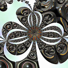 Baubles by Amanda Moore - Illustration Abstract & Patterns ( digital art, fractal art, fractal, digital, fractals )