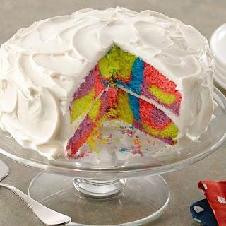 Tie Dye Cake.