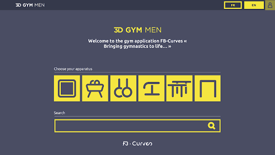 3D GYM - FB CURVES- screenshot thumbnail