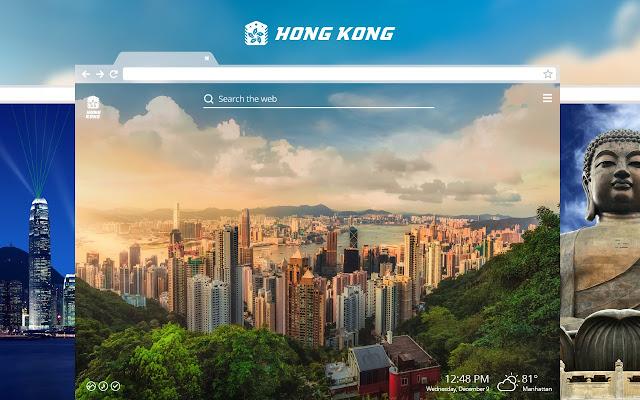 Hong Kong HD Wallpapers New Tab Theme