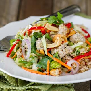 Thai Pork Quinoa Salad.