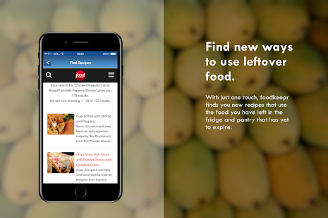 foodkeepr grocery list- screenshot thumbnail