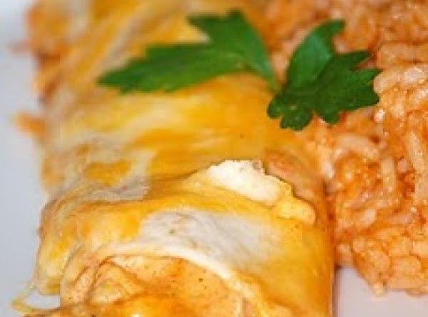 Mild Cheesy Chicken Enchiladas Recipe