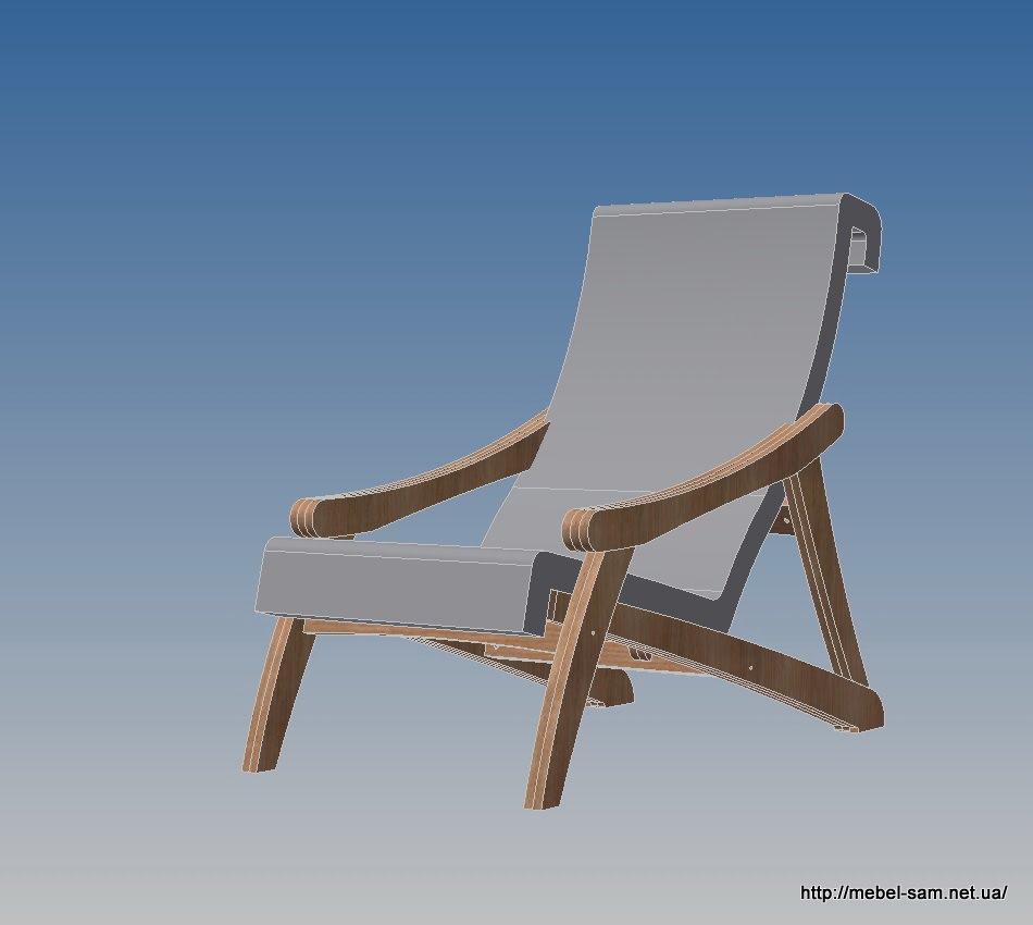 Кресло с матрасом