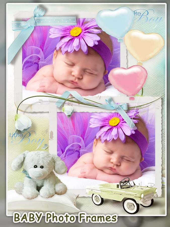 baby picture frames screenshot