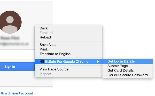 BitSafe For Google Chrome