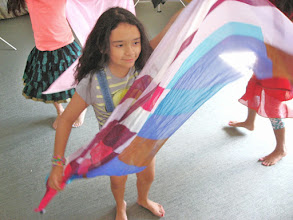 Photo: Bollywood lesson at Challenge Camp by Gargi (day 7)