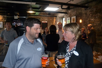 Photo: Andrew Klassen with Christine Kemp