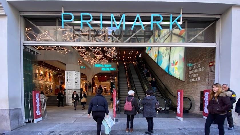 Tienda de Primark en la Gran Vía de Madrid.