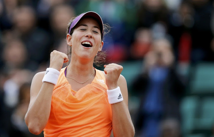 Garbine Muguruza. Picture: REUTERS