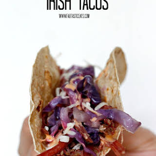 Slow Cooker Irish Tacos.