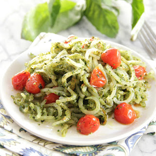 Pesto Potato Noodles Recipe