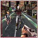 zombie folle città: morte war icon