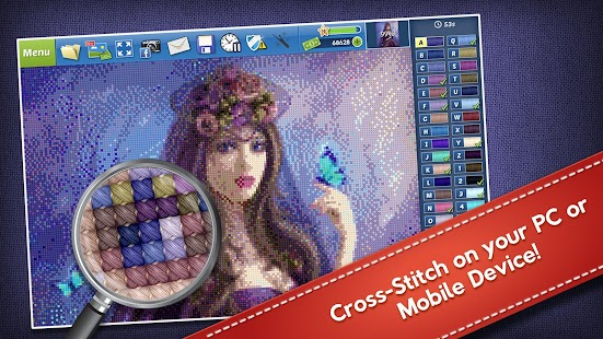 Cross-Stitch World- screenshot thumbnail