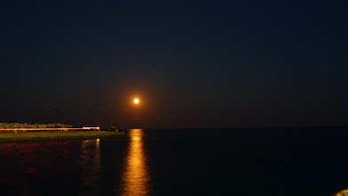 Photo: It was a beautiful moon