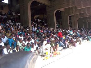 Photo: A cross section of Lagosians at the Tafawa Balewa Square
