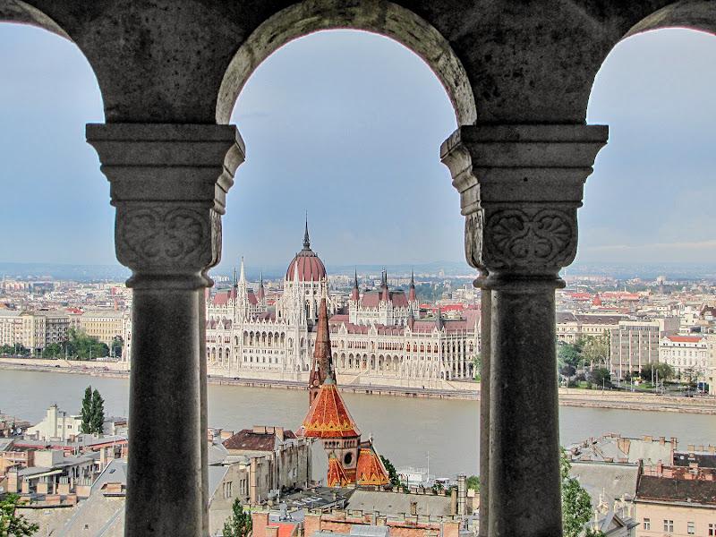 Budapest, dal bastione dei pescatori. di brunosma