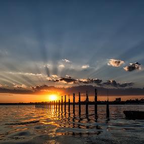by Luca Arșinel - Landscapes Sunsets & Sunrises ( sunset,  )