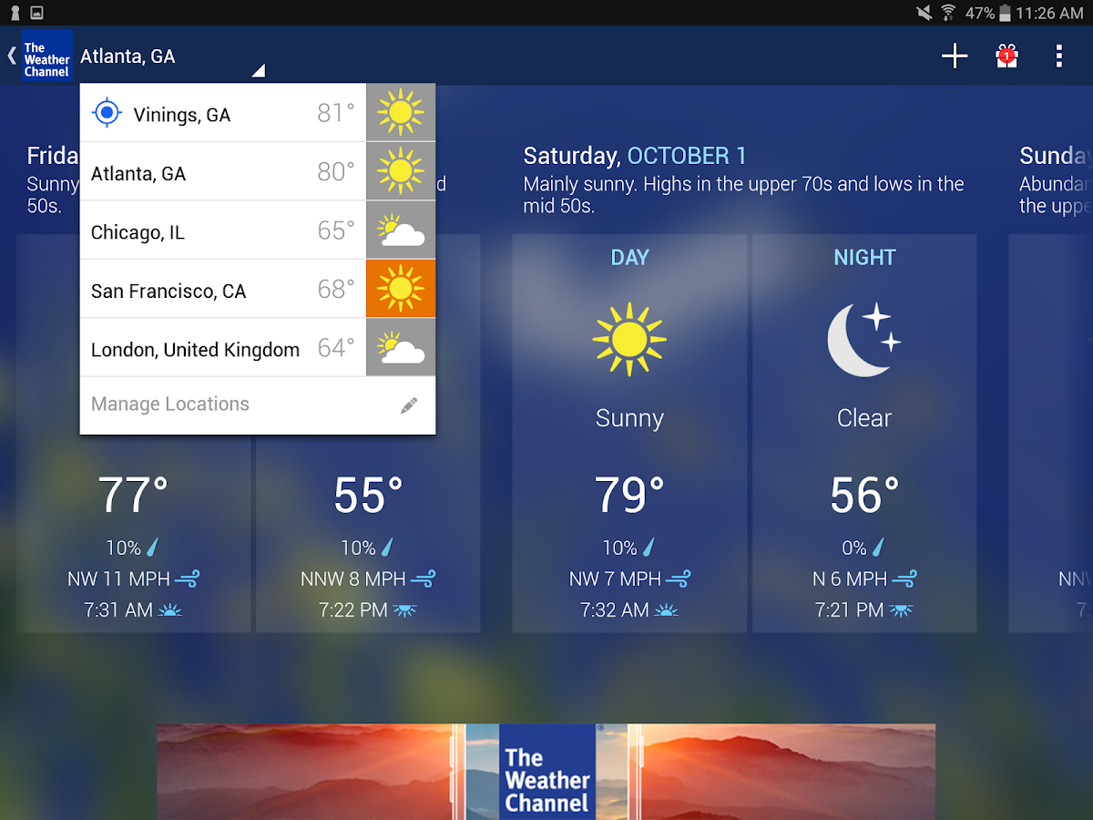 Weather - The Weather Channel- screenshot
