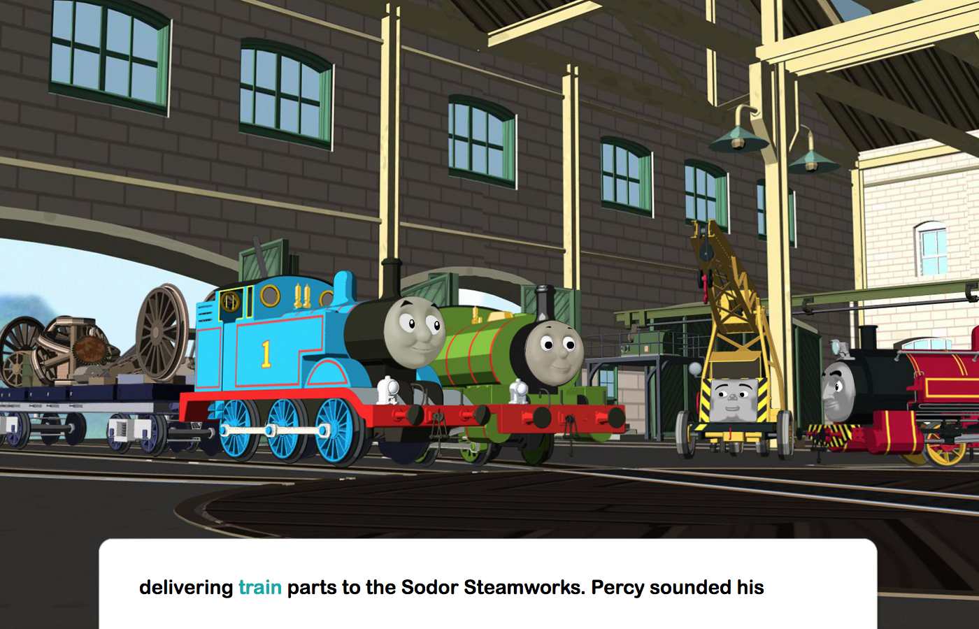 Thomas's Musical Day for Percy- screenshot