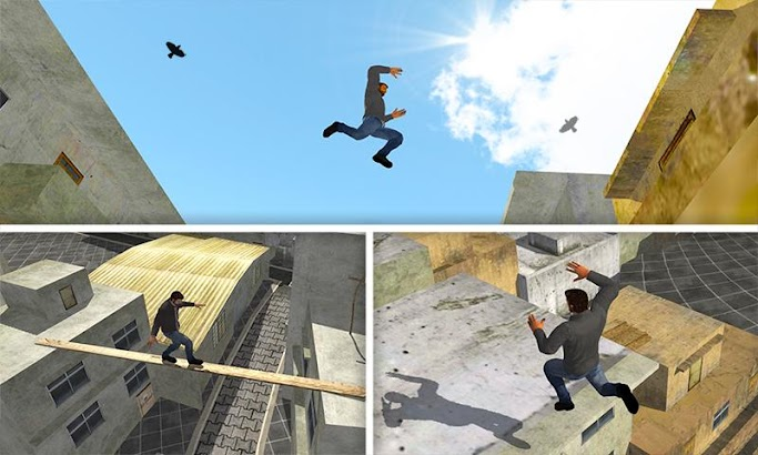 Mad City Rooftop Police Squad screenshot
