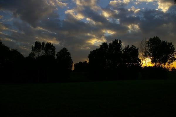 nuvole al  tramonto di giamima
