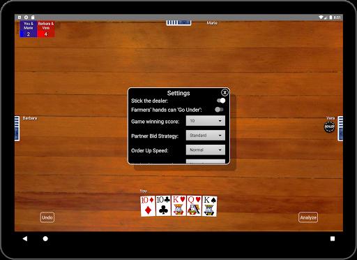 Euchre Card Classic 1.1 screenshots 15