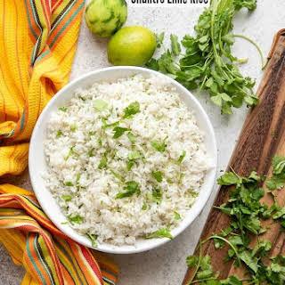 Instant Pot Cilantro Lime Rice.