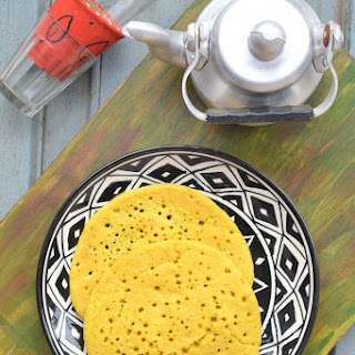 Methi Dosa / Methyeche Pole / Fenugreek Pancakes.