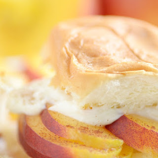 Peaches and Cream Sliders