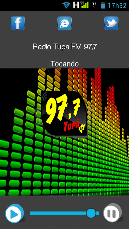 Rádio Tupã FM- screenshot