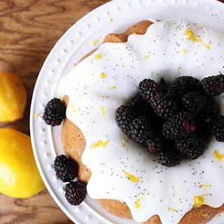 Lemon Poppy Seed Cake.