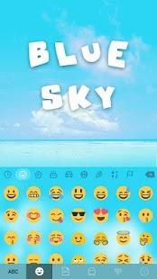 Blue-Sky-Kika-Keyboard-Theme 1