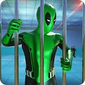 Frog Ninja Hero: Prison Escape Games icon