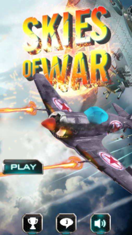 Skies of war for MotionPlay- screenshot