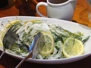 Photo: Cucumber and Fennel Salad