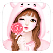 Pink Lovely Girl Theme