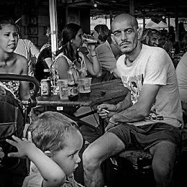 by Nicolae Sbiera - Black & White Portraits & People