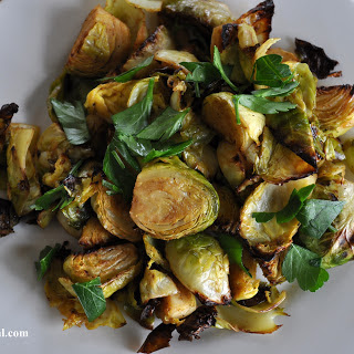 Roasted Balsamic Brussels Sprouts