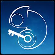 Fancy Blue: App Lock Theme