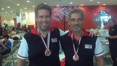 Photo: Antonio Torres & Flávio Alonso (BRONZE nas duplas masculinas 2.ª divisão)