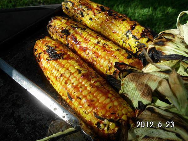 Grilled Bbq Corn On The Cob Recipe