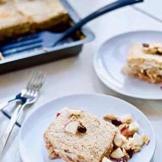 "Czech Apple Bread Pudding (""Žemlovka"") Made Healthy & Vegan"