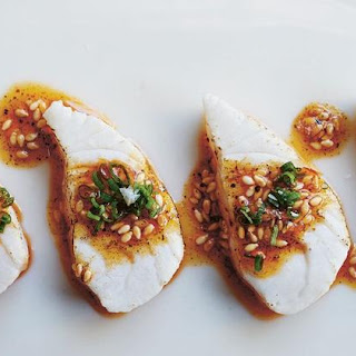 Kanpachi with Sesame & Chile Oil