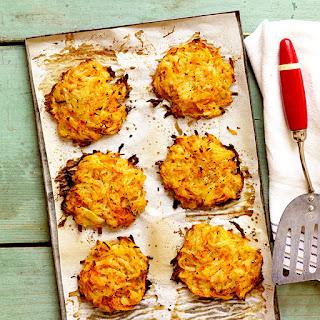 Shredded Potato and Carrot Latkes