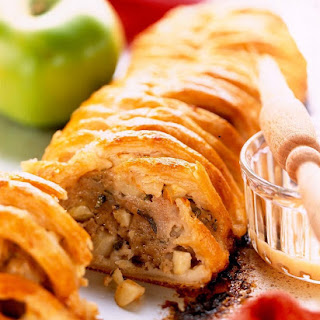 Pork and Bramley Apple Sausage Roll.