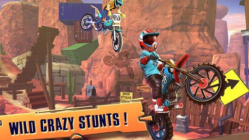 Code Triche course vélo d'essai: xtreme stunt bike jeux course APK MOD (Astuce) screenshots 3